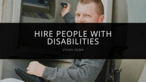 Steven Odzer - Hire People With Disabilities