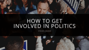 Steven Odzer - How to Get Involved in Politics