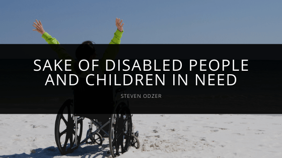 Steven Odzer - Sake of Disabled People and Children in Need