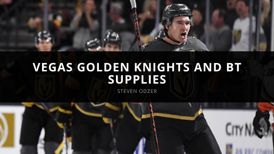 Steven Odzer Talks About the Vegas Golden Knights and BT Supplies Agreement