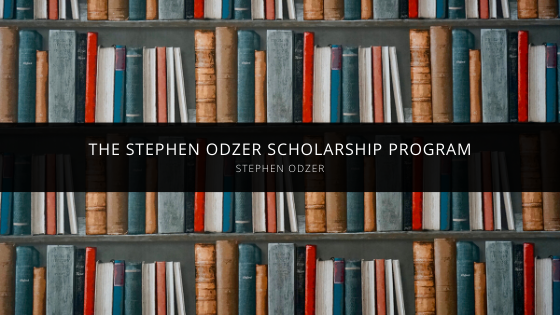 Steven Odzer Talks About the Stephen Odzer Scholarship Program
