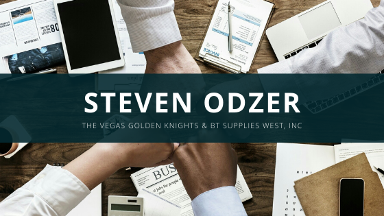 The Vegas Golden Knights Partner with Steven Odzer and BT Supplies